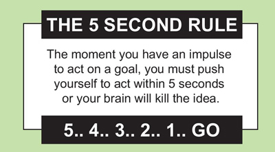 Summary of The 5 Second Rule by Mel Robbins | Summaries.Com