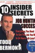 book covers 10 insider secrets to job hunting success