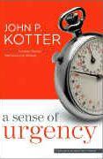 book covers a sense of urgency