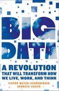 book covers big data