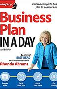 book covers business plan in a day