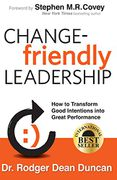 book covers change friendly leadership