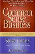 book covers common sense business
