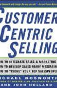 book covers customer centric selling