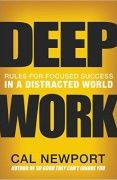 book covers deep work