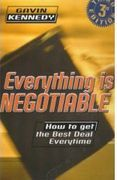 book covers everything is negotiable