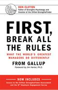 book covers first break all the rules