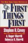 book covers first things first