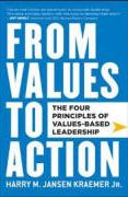 book covers from values to action