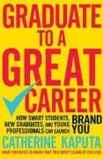 book covers graduate to a great career