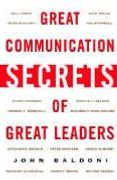 book covers great communication secrets of great leaders
