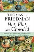 book covers hot flat and crowded and how it can renew america