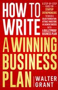 book covers how to write a winning business plan