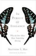 book covers in pursuit of elegance