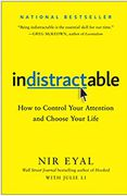 book covers indistractable