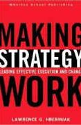 book covers making strategy work