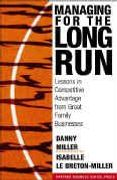 book covers managing for the long run