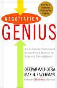 book covers negotiation genius