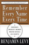 book covers remember every name every time