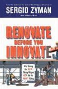 book covers renovate before you innovate