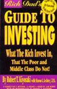 book covers rich dads guide to investing