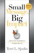 book covers small message big impact