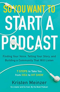 book covers so you want to start a podcast
