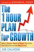 book covers the 1 hour plan for growth