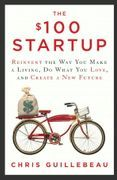book covers the 100 dollar startup