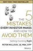 book covers the 5 mistakes every investor makes and how to avoid them