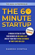 book covers the 60 minute startup