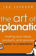 book covers the art of explanation