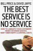 book covers the best service is no service