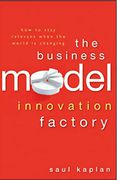 book covers the business model innovation factory