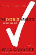 book covers the checklist manifesto