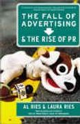 book covers the fall of advertising and the rise of pr