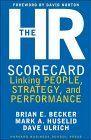 book covers the hr scorecard