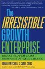 book covers the irresistible growth enterprise