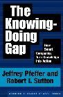 book covers the knowing doing gap