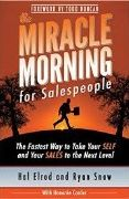 book covers the miracle morning for salespeople