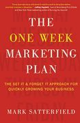 book covers the one week marketing plan
