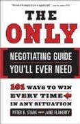 book covers the only negotiating guide youll ever need