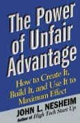 book covers the power of unfair advantage