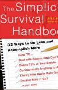 book covers the simplicity survival handbook