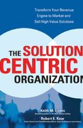 book covers the solution centric organization