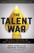 book covers the talent war