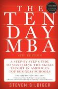 book covers the ten day mba