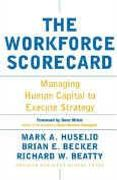book covers the workforce scorecard