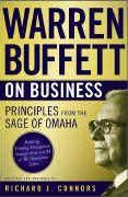 book covers warren buffett on business