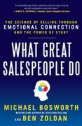 book covers what great salespeople do